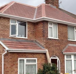 Extension and re-roof beeston rylands: Click Here To View Larger Image